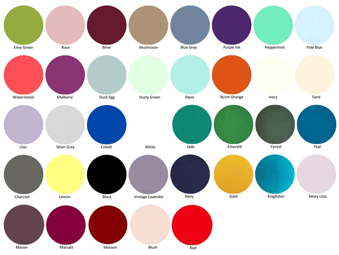 OUR COLOR SWATCHES